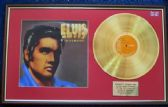 Elvis Presley - 24 Carat Gold Disc and Cover - Elvis in Demand